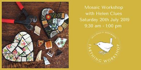 Half Day Mosaic Workshop with Helen Clues tickets