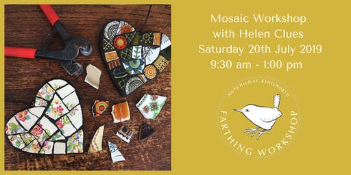 Half Day Mosaic Workshop with Helen Clues