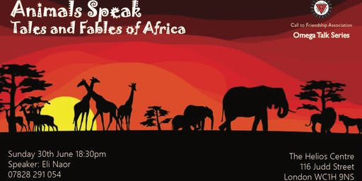 Animals Speak: Tales and Fables of Africa