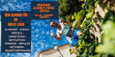 POWERDAY-KLARHEIT-FOKUS-ERFOLG FÜR DEIN GAILES LEBEN Tickets