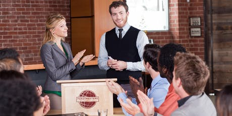 Develop speaking, presentation and leadership skills tickets