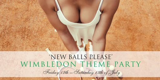 New Balls Please - Wimbledon Theme Party