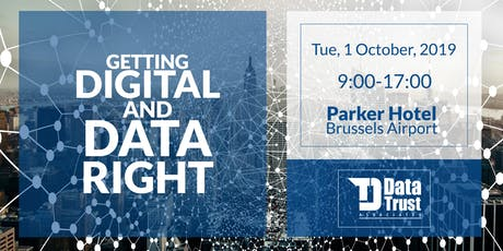 Getting Digital and Data right! tickets