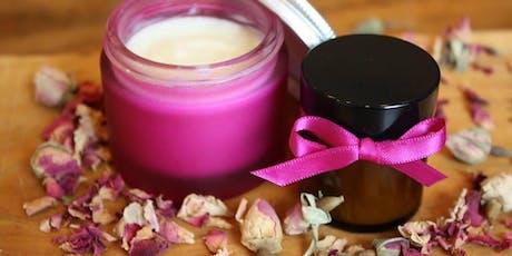 Making Natural Creams and Lotions tickets