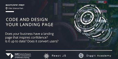 Build and Design your Business Landing Page (Onsite and webinar option)