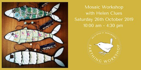 Mosaic Workshop with Helen Clues tickets