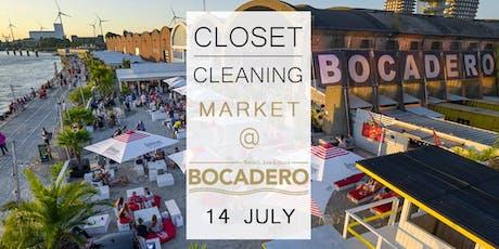 Closet Cleaning Market - 14 juli - Antwerpen 'Bocadero' tickets