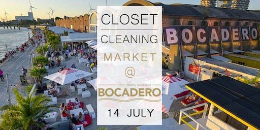 Closet Cleaning Market - 14 juli - Antwerpen 'Bocadero'