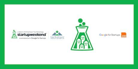 Techstars Startup Weekend Lisbon Immersive Tech tickets