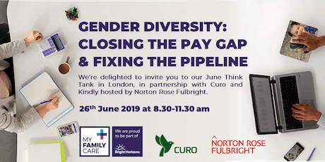 Gender Diversity: Closing the Pay Gap & Fixing the Pipeline tickets