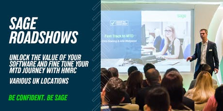 Sage Roadshow - Manchester tickets