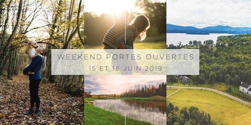 Boisés d'Inverness - Weekend Portes Ouvertes 15 et 16 juin 2019