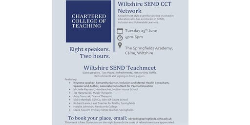 Chartered College of Teaching Wiltshire SEND Network