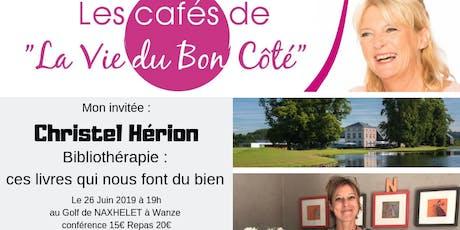 Café La Vie du Bon Côté Wanze : Bibliothérapie billets