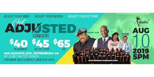Get Adjusted Concert