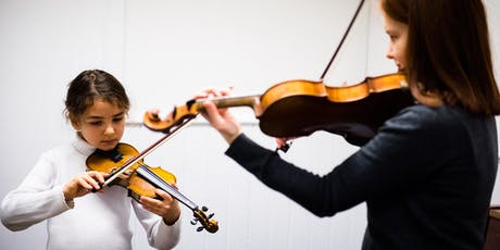 The Conservatoire Open Day - Play! Violin (6-9 yrs) tickets