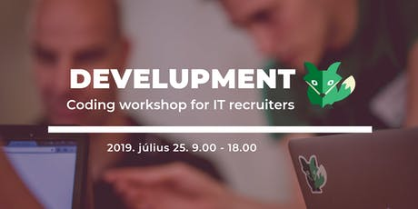 DevelUPment - Coding workshop for IT recruiters tickets