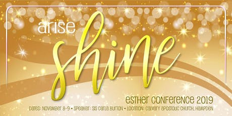 Maine Esther Conference 2019 tickets