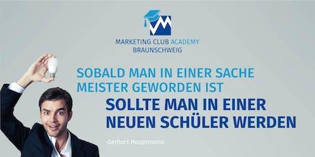 Marketing-Club Academy: So positionieren Sie erfolgreich Ihre Marke! Tickets