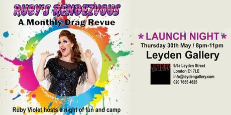 Ruby's Rendezvous | A monthly drag revue tickets