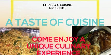 A Taste Of Cuisine tickets