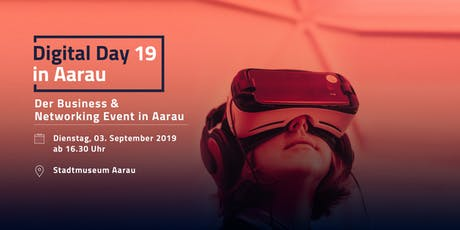 Digital Day 2019 in Aarau billets