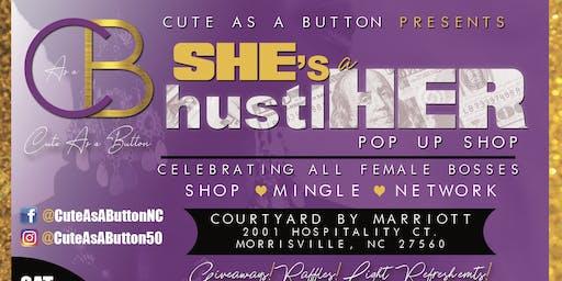 SHE's a hustlHER  Pop-Up Shop