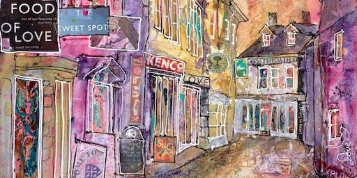 Katharine Dove exhibits her latest work at Whitewall Galleries Cheltenham