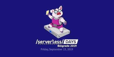 Serverless Days Belgrade tickets