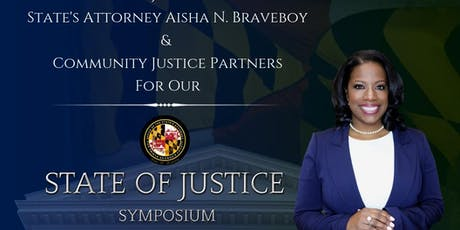 STATE OF JUSTICE SYMPOSIUM tickets
