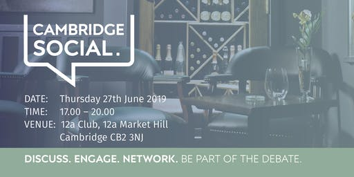 Cambridge Social - 27 June