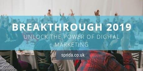 Breakthrough 2019: Unlock the power of digital marketing tickets