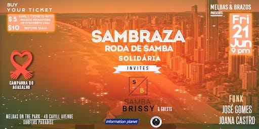 Sambraza - Roda de Samba Solidária I Samba Brissy + Guests