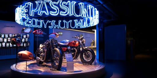 AUGUST 2019 Triumph Factory Tour - 14.30