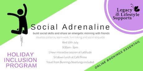 Social Adrenaline tickets
