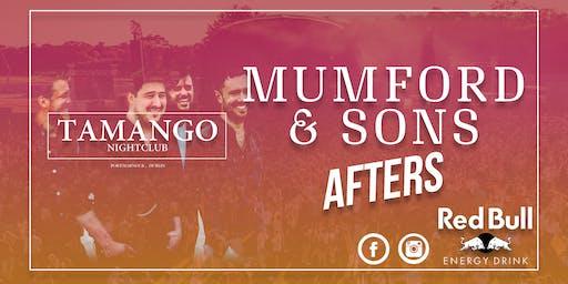 Mumford & Sons Afters at Tamango Nightclub | June 15th