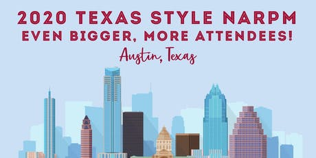 Texas State NARPM Conference Sponsorship tickets