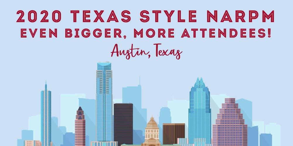 Austin Texas Calendar Of Events February 2020 Texas State NARPM Convention Sponsorship Tickets, Thu, Feb 6, 2020