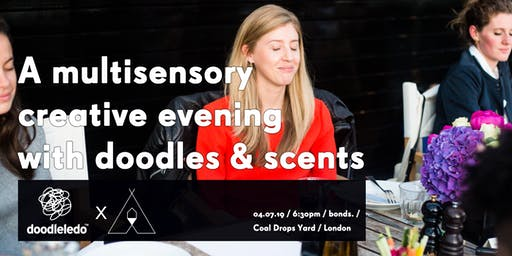Doodleledo X Earl of East: multisensory evening with doodles & scents