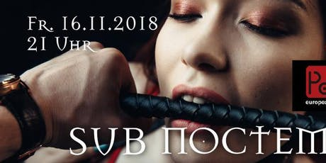 "Sub Noctem – Classic SM Playparty ""Passion Spezial"" Tickets"