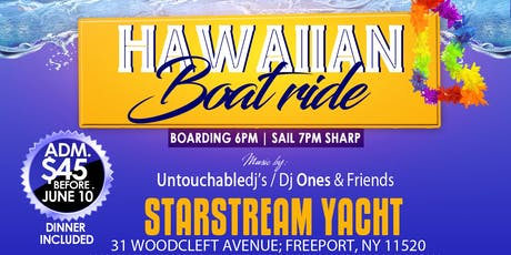Hawaiian boatride tickets