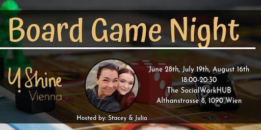 Board Game Night: 28th June
