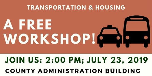 FREE WORKSHOP: Medina County Transportation & Housing