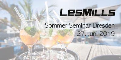 LES MILLS Sommer Seminar Dresden