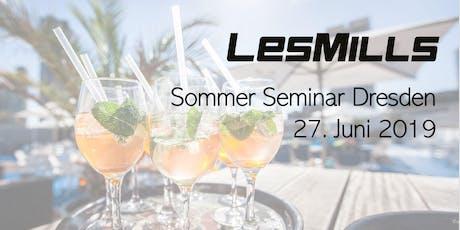 LES MILLS Sommer Seminar Dresden Tickets