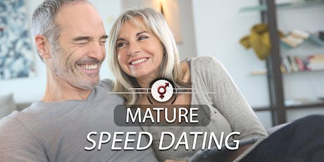 Mature Speed Dating | Age 52-70 | August tickets