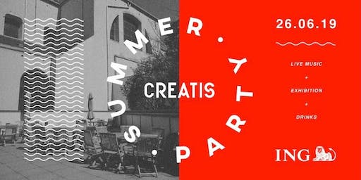 Creatis Brussels ~ Summer Party with Saudade