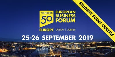 European Business Forum - Day 2 -Session 1, 9-10.30 - Rethinking Leadership
