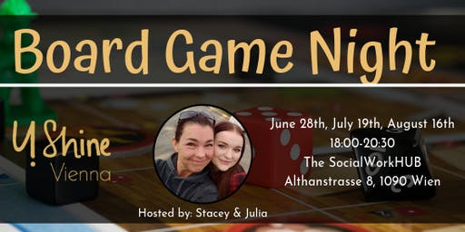 Board Game Night: 16th August