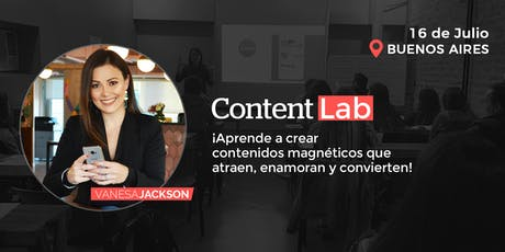 Content Lab: Workshop Producción de Contenidos entradas